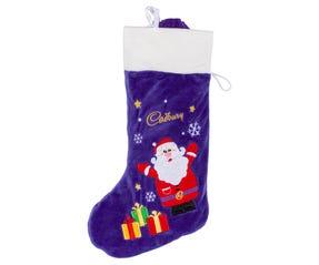 181g Cadbury Christmas Plush Stocking