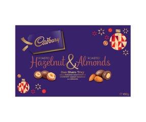 Cadbury Roasted Hazelnut & Roasted Almonds 450g
