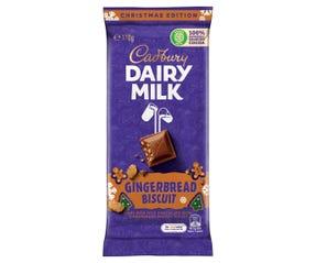 Cadbury Dairy Milk Gingerbread Biscuit 170g