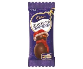 Cadbury Vanilla Mousse Snowman 30g