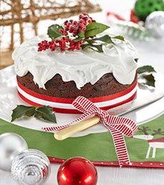 Chocolate Boiled Fruit Cake