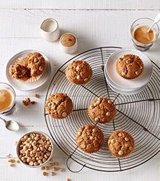 Banana & CARAMILK Chocolate Chip muffins