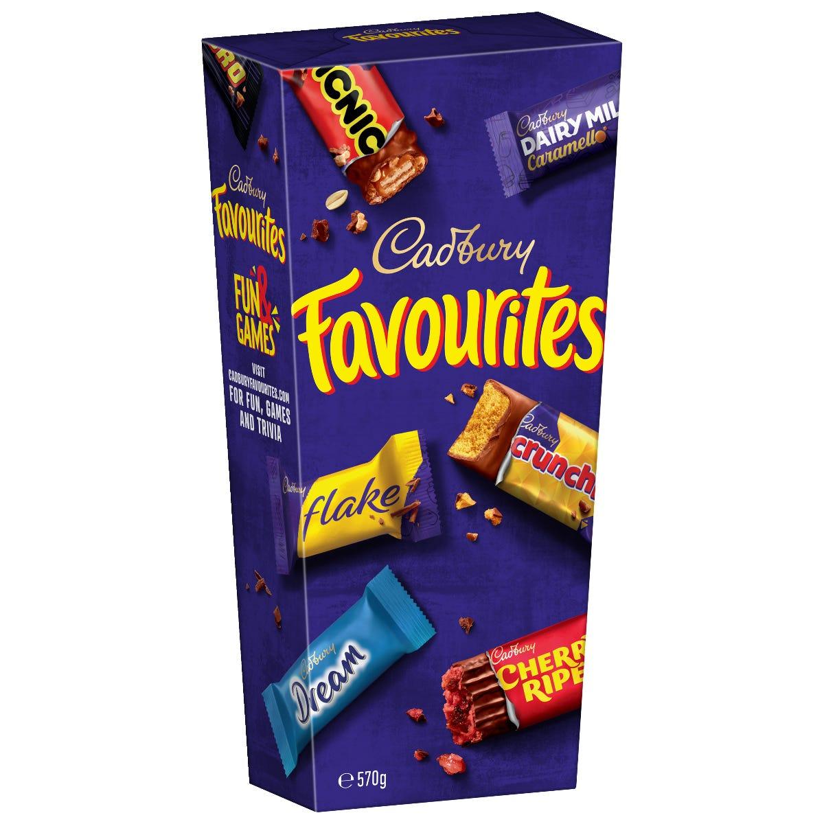 Cadbury Favourites 570g