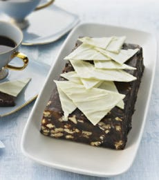 Festive Chocolate P�t� Slice