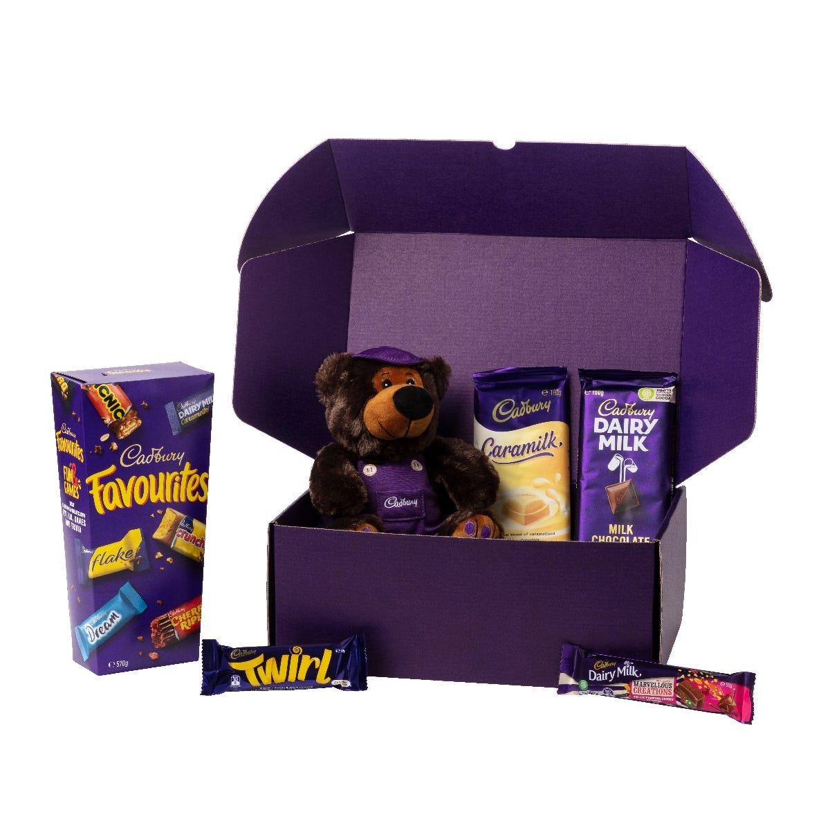 Cadbury Favourites Hamper with Bear