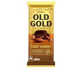 Cadbury Old Gold Dark Chocolate Roast Almond 180g
