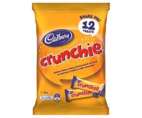 Cadbury Crunchie Sharepack 12 Pack 180g