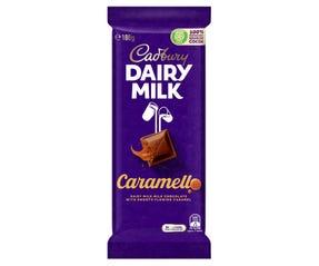 Cadbury Dairy Milk Caramello milk chocolate block 180g