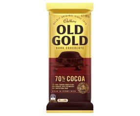 Cadbury Old Gold Dark Chocolate 70% Cocoa 180g