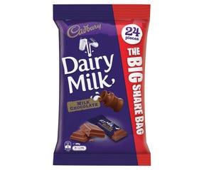 Cadbury Dairy Milk Share Bag 24 Pieces