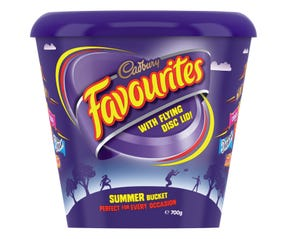 Cadbury Favourites with Flying Disc Lid 700g