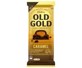 Cadbury Old Gold Dark Chocolate Caramel 180g