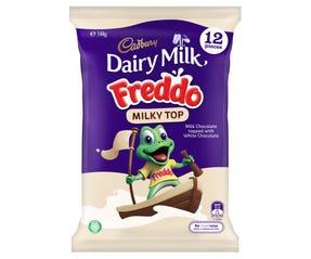 Cadbury Dairy Milk Freddo Milky Top 12 Pack 144g