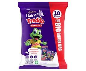 Cadbury Dairy Milk Freddo Variety Pack 18 Pack 234g