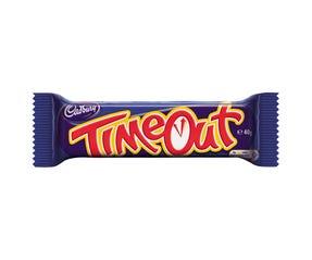 Cadbury Time Out chocolate bar 40g