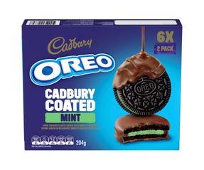 Oreo Cadbury Coated Mint 204g