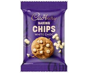Cadbury Baking Chips White 200g