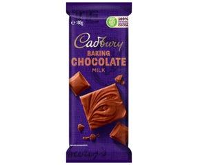 Cadbury Baking Milk Chocolate 180g
