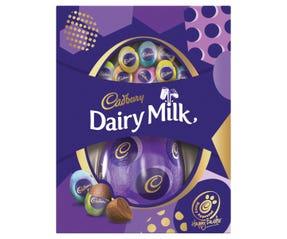 Cadbury Dairy Milk Egg Gift Box 176g