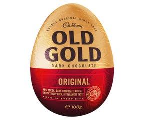 Cadbury Old Gold Dark Chocolate Easter Egg 100g