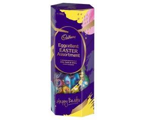 Cadbury Eggcellent Easter Assortment Gift Box Pink 800g