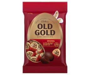 Cadbury Old Gold Dark Chocolate Egg Bag 114g
