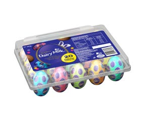 Cadbury Dairy Milk Egg Crate 340g